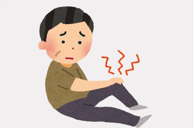ひざ痛イメージ画像-つるた接骨院は 田無駅北口より徒歩5分